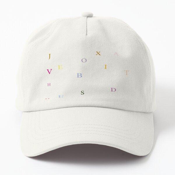 ALPHABET ART Dad Hat