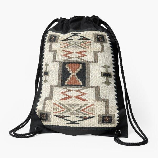 Storm Pattern  Drawstring Bag