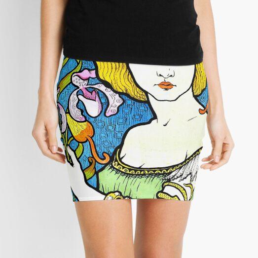 Salon des Cent Cover by Paul Berthon Mini Skirt
