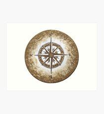Spirit Compass Art Print