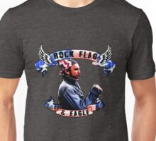 rock flag and eagle- charlie Unisex T-Shirt