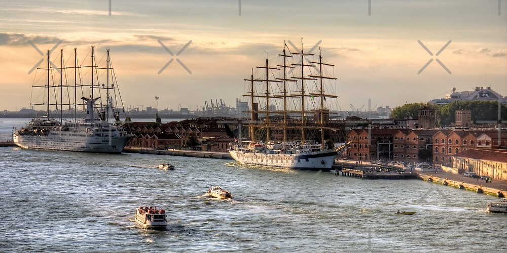 When 4 masts are just not enough by Tom Gomez