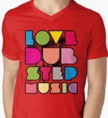 Love Dubstep Music Mens V-Neck T-Shirt