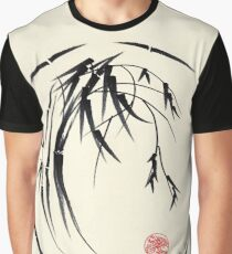 """Beauty"" sumie ink brush pen painting Graphic T-Shirt"