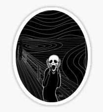 The Scream Sticker