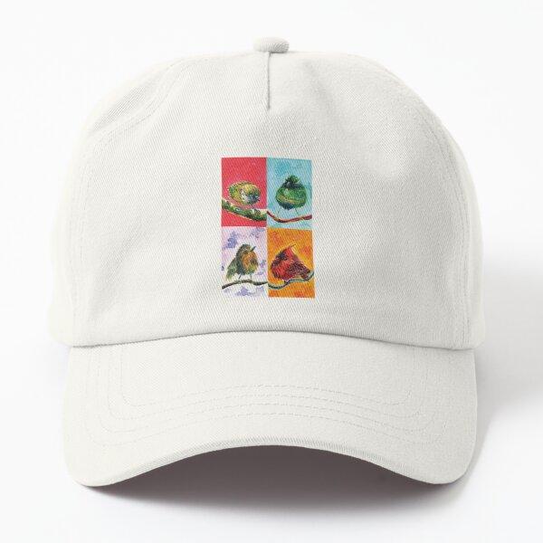 Cute birds Dad Hat