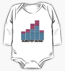 Equalizer Dubstep Music (light) One Piece - Long Sleeve