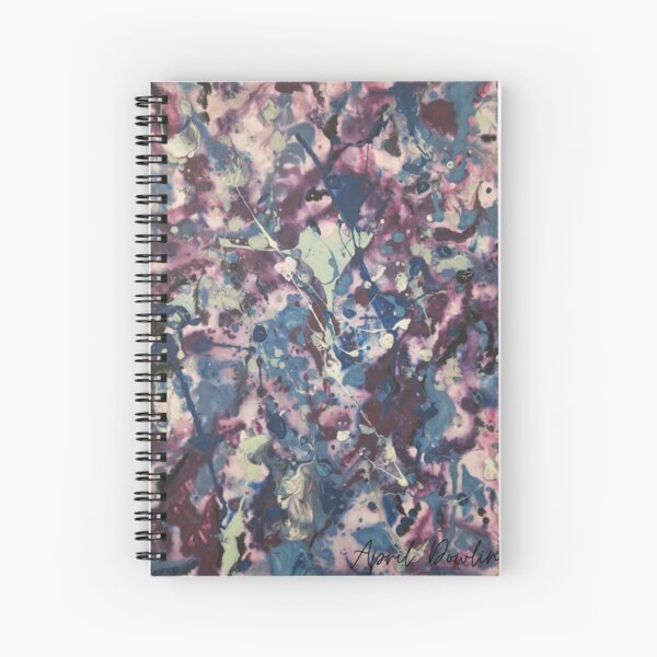 Entering A Higher Frequency Spiral Notebook
