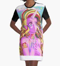 L A D Y • R A I N I C O R N Graphic T-Shirt Dress
