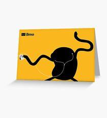 Adventure Time Bmo's Campaign (Apple iPod Parody). Jake Version. Greeting Card