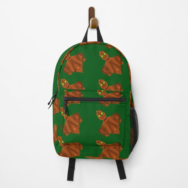 Copper colored nonhuman  Backpack
