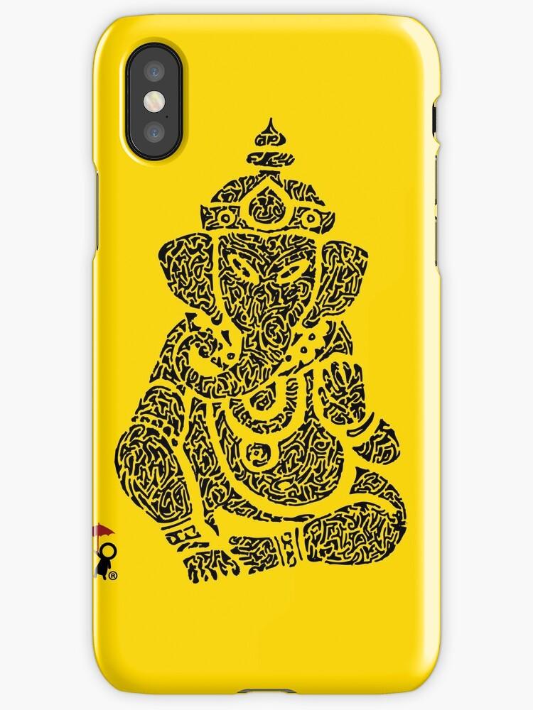 Ink Rain Ganesha by InkRain