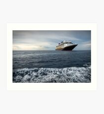 A Grand View from Grand Cayman Art Print