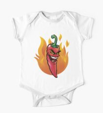 Evil red hot chili pepper One Piece - Short Sleeve