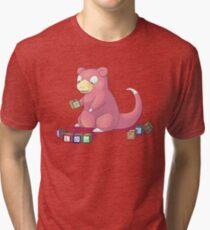 Pokemon Slowpoke Tri-blend T-Shirt