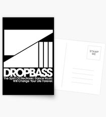 DropBass Logo (New) Postcards