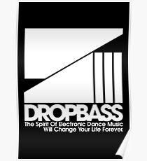DropBass Logo (New) Poster