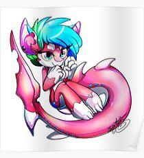 Pinkie Shark Poster
