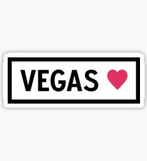 Vegas Sticker