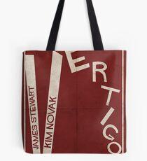 Vertigo - Poster minimalista, Alfred Hitchcock - James Stewart, Kim Novak, póster de pelicula, cartel retro, ilustración Bolsa de tela