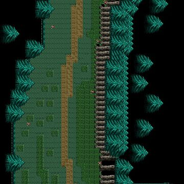 RPG Pixel Forest #2 Phone Case by shadowinkdesign