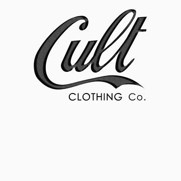 Cult Clothing Co. Logo Tee by cultclothingco