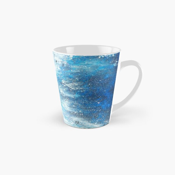 An Afternoon on Fistral, Cornwall Art Tall Mug