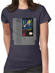 Kingdom Hearts NES Cartridge Womens Fitted T-Shirt
