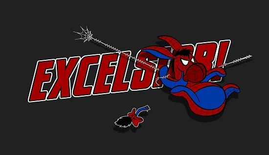 EXCELS-EEYORE! by jayveezed