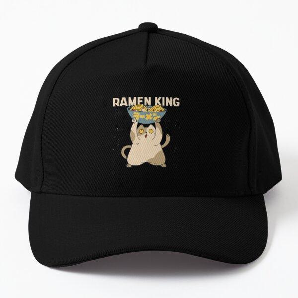 Ramen King Cat Baseball Cap