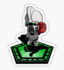 The Hitchhiker's Guide to the Galactica Sticker