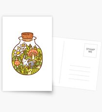 Bunny in a Bottle Postcards