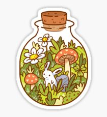 Bunny in a Bottle Sticker