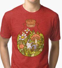 Bunny in a Bottle Tri-blend T-Shirt