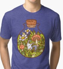 Bunny in a Bottle Tri-blend T-Shirt