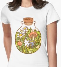Bunny in a Bottle Women's Fitted T-Shirt