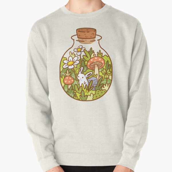 Bunny in a Bottle Pullover Sweatshirt
