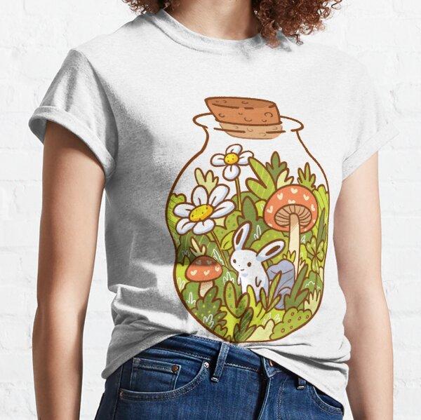 Conejito en una botella Camiseta clásica