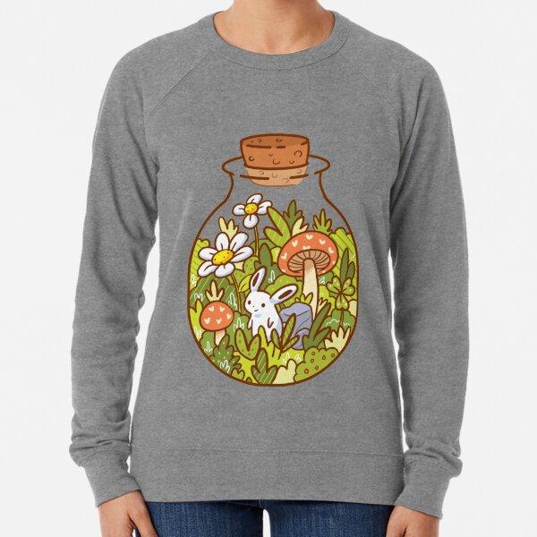 Hase in einer Flasche Leichter Pullover