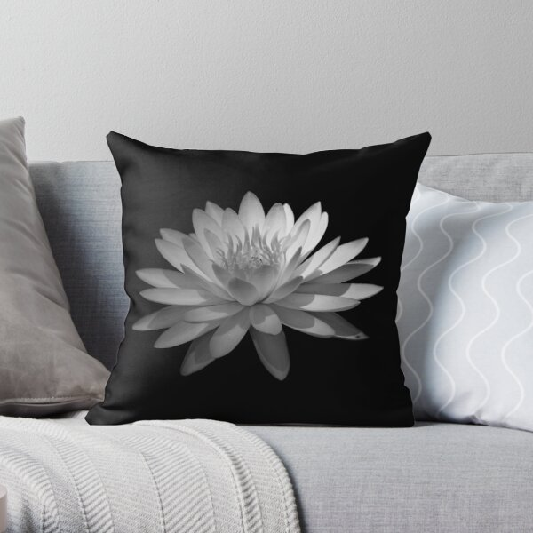 Ebony And Ivory ~ Part Four Throw Pillow