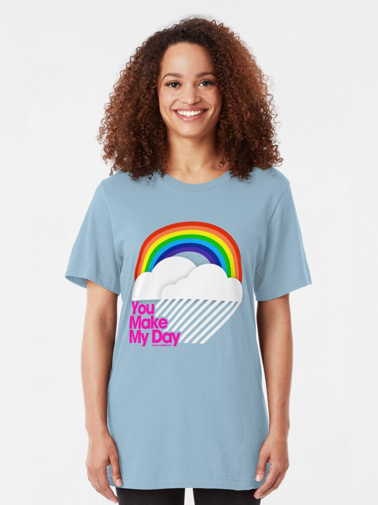Alternate view of You Make My Day /// Slim Fit T-Shirt