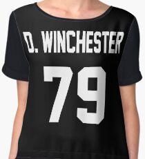 Supernatural Jersey (Dean Winchester) Chiffon Top