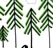 twenty one pilots - Silent in the Trees Sticker