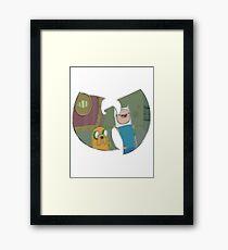 Adventure Time Forever Framed Print