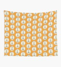Miss-A-Go: Wounded by Ray Gun Wall Tapestry