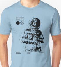 Space Journey 3.1 (black Unisex T-Shirt