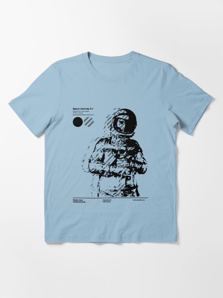 Alternate view of Space Journey 3.1 (black Essential T-Shirt