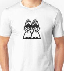 Lesbian wedding Unisex T-Shirt