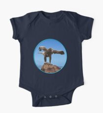 GALLIMAUFRY ~ JUST PHOTOS ~ SCENES & SCENERY ~ D1G1TAL-M00DZ ~ Eagle On Rock by tasmanianartist One Piece - Short Sleeve