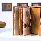 Art Installation inc. 'Book of Threads', Umbrella Studio Gallery  by Kerryn Madsen-Pietsch